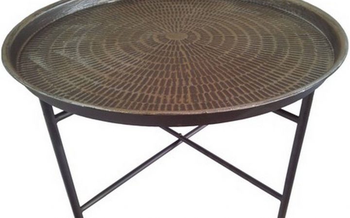 Metal Round Coffee Tables