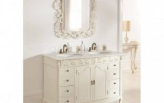Antique Bathroom Mirrors