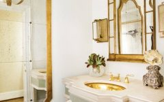 French Bathroom Mirrors