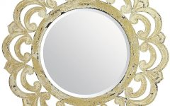 Ivory Ornate Mirrors
