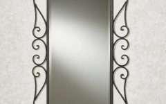 Wrought Iron Bathroom Mirrors