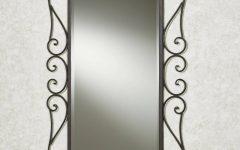 Wrought Iron Bathroom Mirrors