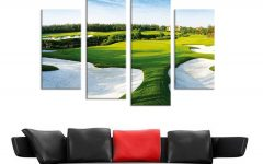 Golf Canvas Wall Art