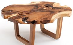 Modern Round Wooden Coffee Tables