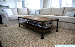 Coffee Tables With Baskets Underneath