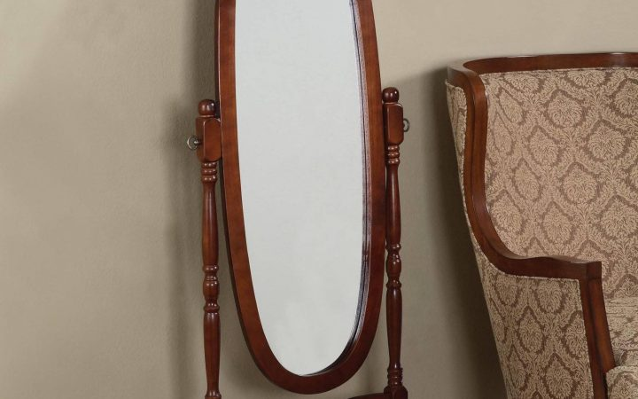 Free Standing Oval Mirrors