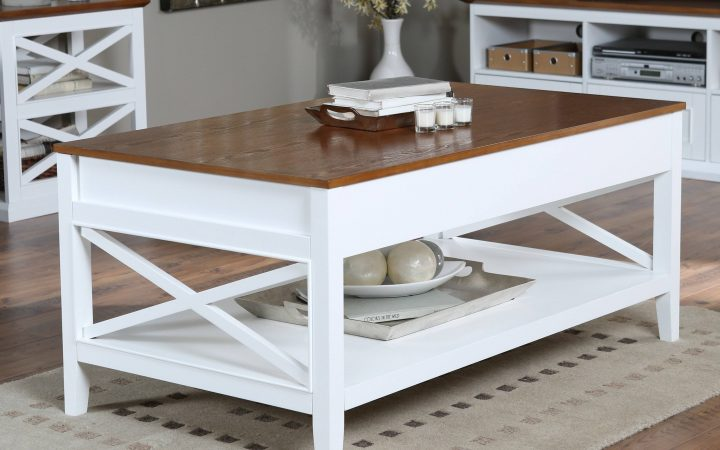 White and Oak Coffee Tables