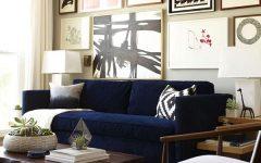 Dark Blue Sofas