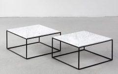 Metal Square Coffee Tables