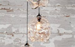 Cluster Glass Pendant Lights Fixtures