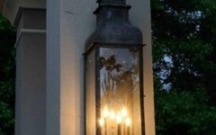 Outdoor Hanging Gas Lights