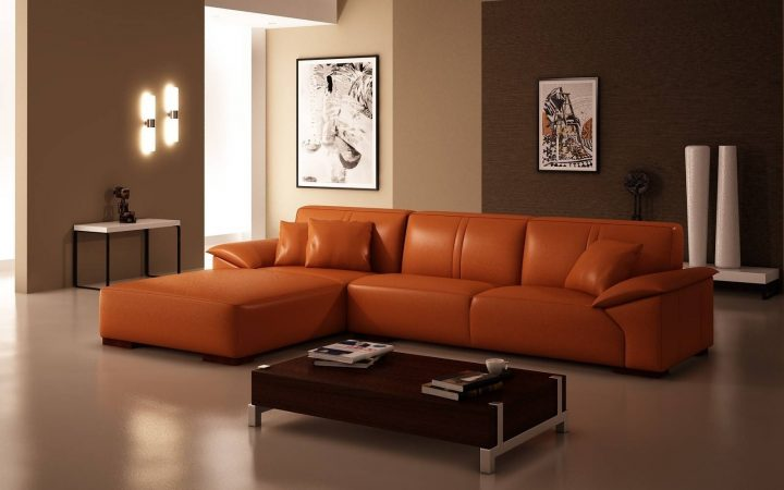 Burnt Orange Living Room Sofas