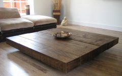 Large Round Coffee Table Wood