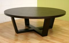 Big Round Coffee Table Wood