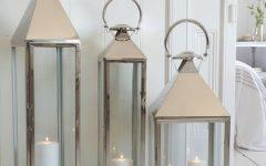 Outdoor Hanging Metal Lanterns