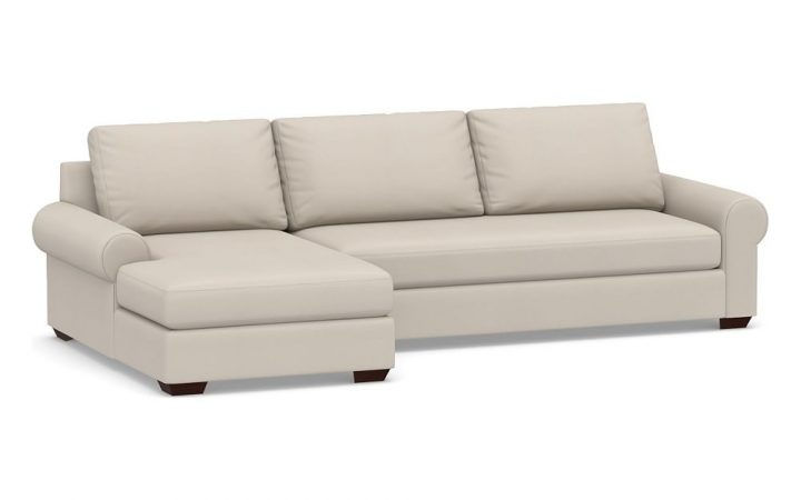 Dulce Right Sectional Sofas Twill Stone