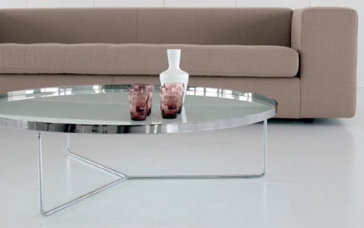 Cheap Large Round Glass Coffee Table