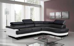 Black and White Sofas