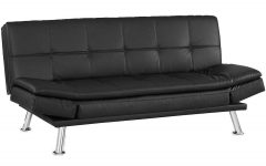 Black Leather Convertible Sofas