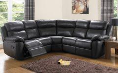 Black Leather Corner Sofas