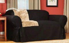 Black Slipcovers for Sofas