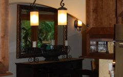 Wrought Iron Kitchen Lighting