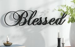 Blessed Steel Wall Decor