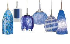 Blue Pendant Lights Fixtures