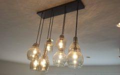 Paxton Glass 8 Light Pendants
