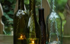 Outdoor Hanging Bottle Lights