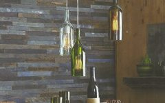 Wine Glass Pendant Lights