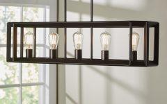 Bouvet 5-light Kitchen Island Linear Pendants