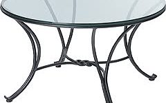 Small Round Wrought Iron Coffee Table Base