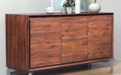 Burn Tan Finish 2-door Sideboards