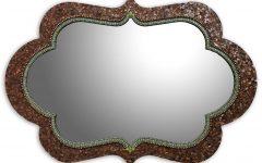 Bronze Mosaic Mirrors