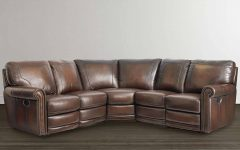 Leather Motion Sectional Sofa