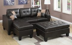 Leather Sectional Sofas With Ottoman