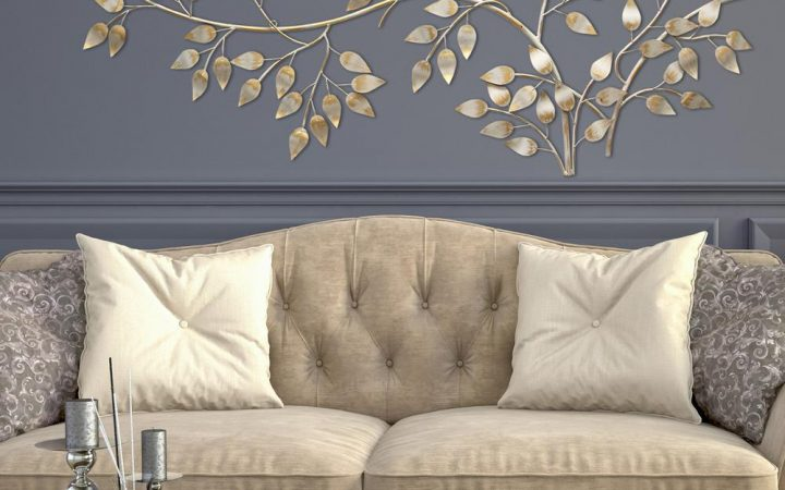 Flowing Leaves Wall Decor