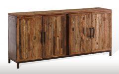 Burnt Oak Bleached Pine Sideboards