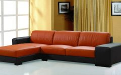 Burnt Orange Leather Sofas