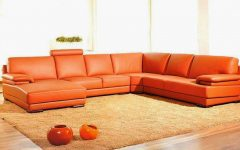 Burnt Orange Sectional Sofas