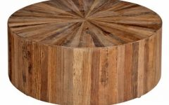 Solid Round Coffee Table