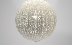Moroccan Punched Metal Pendant Lights