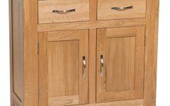 Natural Oak Wood 2-door Sideboards