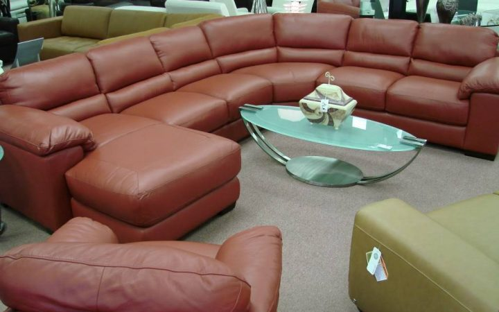 Camel Colored Sectional Sofa