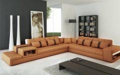 Camel Sectional Sofa