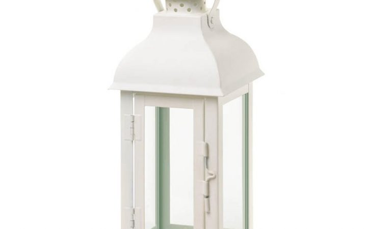 White Outdoor Lanterns
