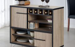Carbon Loft Feleni Contemporary Buffets