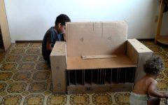 Cardboard Sofas