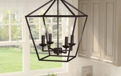 Carmen 4-light Lantern Geometric Pendants